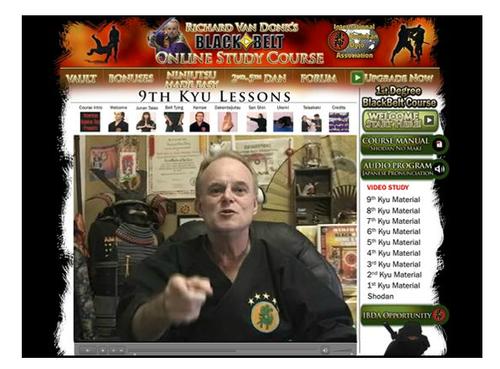 Shihan Richard Van Donk's Complete Online Ninjutsu Masters Course