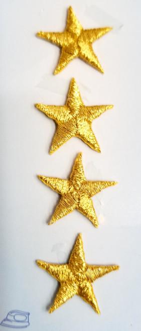 GOLD UNIFORM STARS