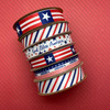 Mix and Match all our Americana ribbons for your Memorial Da,  4th of July, Flag Day and Labor Day celebrations.