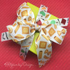 Mix and match our pasta ribbon with our Chef themed ribbon to make a wonderful gift presentation for your foodie friends!