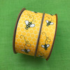 """Our buzzing bees are offered in two sizes in grosgrain for your projects large and small. This ribbon is offered on 7/8"""" and 1.5"""" widths!"""