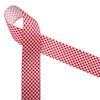 """Red and white gingham check printed on 1.5"""" white grosgrain ribbon is a classic design perfect for so many craft projects, events and gifts! Be sure to have this ribbon on hand for all your creative moments! Designed and printed in the USA"""