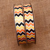 """Our Fall chevron is offered in  5/8"""" satin and grosgrain!"""