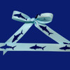 Tie a pretty bow with our shark ribbon to create the perfect topping to a party favor!