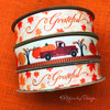 Mix and match our Grateful ribbon with our Fall pumpkin truck! This fun combination is perfect for all those Fall and Thanksgiving gifts and craft projects!