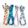 These lanyards are available in four fun designs for boys! Choose among construction vehicles, baseball stitch, dinosaurs, and soccer balls. Never lose a face mask at school, sports practice, on the bus or during lunch again!