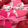 Mix and match our Valentine bicycle ribbon with I Love You ribbon for the perfect touch of love and whimsy on your Valentine gifts!