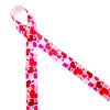 "Tossed hearts in pink and red on 7/8"" white single face satin  ribbon is such a fun design for Valentine's Day. This is a great ribbon for gift wrap, party decor, scrapbooking and craft projects with a love theme! Be sure to have this versatile ribbon on hand for your Valentine needs! All our ribbon is designed and printed in the USA"