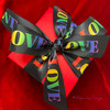 """Our 1.5"""" wide satin ribbon ties the most beautiful bows ever! Be sure to impress your Valentine with this  beautiful ribbon!"""