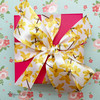 Nothing says Spring like a beautiful floral bow on a Sprig themed gift! Be sure to have this ribbon on hand for Mother's Day and Spring bridal showers!