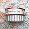 Mix and match our Happy Mother's Day ribbon with our pink and sage stripes for a beautiful Mother's Day  gift wrap! Mom will be impressed with the attention to detail!