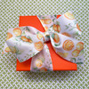 Our oranges ribbon makes a beautiful bow for gifts for any occasion!