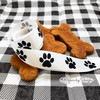 Tie those home made pet cookies with our black and white paw prints for the perfect pet gift!
