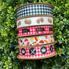 """We have an array of barbecue themed ribbons perfect for every event and occasion! Use the 5/8"""" ribbons for party decor and favors! The 7/8"""" ribbons are perfect for gift wrap and center pieces for the tables!"""