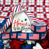Celebrate and honor our country on Memorial Day, 4th of July, and Veterans Day with this patriotic American flag ribbon!