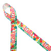 """Aloha Hawaiian themed ribbon with tropical flowers in pink, orange, yellow and green printed on 7/8"""" white grosgrain ribbon is an ideal ribbon for tropical themed parties and crafts! This is an ideal ribbon for hair bows, head bands, hat bands and gift wrap! Use this ribbon for quilting, sewing and craft projects too! All our ribbon is designed and printed in the US"""