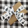 Tie a pretty bow with our black and white potion bottle ribbon for beautiful gift wrap and favors!