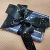 This luxurious ribbon ties a beautiful bow for gifts, wreaths and party decor for any astrology lover!