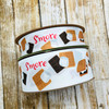"""Our S'mores ribbon comes in 1.5"""" grosgrain and 7/8"""" satin for all you creative ideas!"""