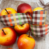 Make your bounty of apples extra special by tying a basket with our plaid ribbon and gifting to a friend!