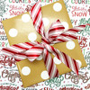 Tie a pretty package with our candy cane stripes!