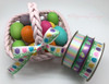Fill your Easter basket and add one of these beautiful ribbons to add that extra special pop!