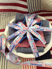 Adding this pretty ribbon to your  hostess gift for a July 4th party would be the perfect touch!