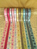 Mix and match our elephants in a row with any of our other ribbons for an interesting party decor!