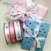 Whether the baby is a pink or a blue, our ribbons look wonderful on any baby present!