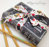 Back to School ribbon decorates a cool chalkboard book box! Fill this little gem with some sweet treats for your sweetest teacher!