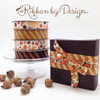 Caramel stripes added to our Fall collection creates a rich elegance to any gift!