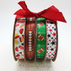 Mix and match our football ribbons with a barbecue or patriotic themed ribbons to make for the perfect tailgate!