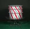 "A tower of candy cane stripes in 1.5"", 7/8"" and 5/8"" widths!"