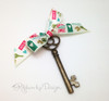 Home Sweet Home! Our welcome home ribbon is the perfect tie for the keys to a new home!