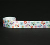 "Our owls are a real hoot in pastel colors on 7/8"" white single face satin ribbon in 10 yard spools!"