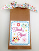 An owl themed baby shower or party needs this little ribbon to tie the favor gifts!