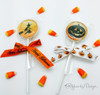 Our Halloween ribbons are just the right way to dress up a lollipop for a special All Hallow's Eve visitor!