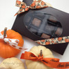 Add our ribbons to mini pumpkins or a box of chocolates for a fun Fall table design and gift!