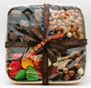 """For the Love of Chocolate in the 5/8"""" width adorns a beautiful Fall assortments of chocolates and nuts by Priscilla's Candies."""