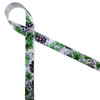 """Grapes and grape leaves on 5/8"""" light orchid single face satin ribbon is the perfect addition to any grape themed gift or favor! Designed and printed in the USA"""