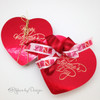 Make even the smallest love gesture a little more special by adding our sweet printed ribbons to a box of chocolates!