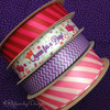 Mixing our patterns is a great way to enhance packaging! Queen for a Day will mix well with pink on pink stripes or lavender chevron for a great Mother's Day gift look!