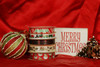 Our Holiday ribbons mix and match to make a fun collection for your gifts and favors!