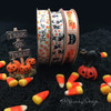 Our October 31st ribbon pairs beautifully with all our Halloween themed ribbons!