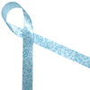 "Little boy blue ribbon printed on 5/8"" light blue single face satin features elements of all things baby boy! This adorable tone on tone blue ribbon is perfect for any baby shower, reveal party or first birthday!"