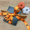 Mix and match our orange and black gingham with our spiders to make for a fun Halloween package!