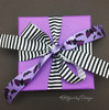 Add some purple bats to this fun little package for a Halloween themed gift or favor!