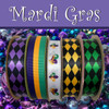Combine this jester hat ribbon with our other Mardi Gras themed ribbons to bring your party to life!!