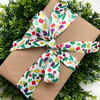 """Our 7/8"""" veggies ribbon makes for a beautiful brown paper package tied with colorful veggies, better than string!"""