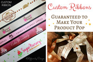 Custom Ribbons Guaranteed to Make Your Product Pop
